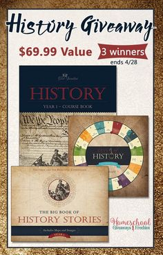 The Good & the Beautiful History Course Set Giveaway