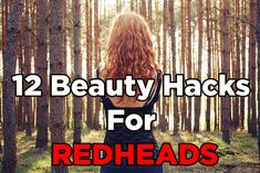 12 Beauty Hacks For Redheads That You Must Try - Makeup Looks Orange Beauty Hacks Eyelashes, Beauty Makeup Tips, Beauty Care, Hair Beauty, Beauty Products, Makeup Products, Eye Makeup, Asian Makeup, Korean Makeup