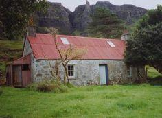 Eigg, Cleadale, Croft House
