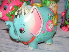 アメリカンヴィンテージ の貯金箱 Coin Bank Holiday Fair Elephant - AMERICAN VINTAGE