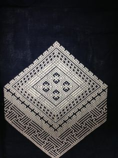 The Beauty of Japanese Embroidery - Embroidery Patterns Sashiko Embroidery, Japanese Embroidery, Embroidery Patterns, Running Stitch, Needlework, Cross Stitch, Textiles, Quilts, Knitting