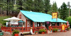 Rendezvous Diner - Greer, Az.  Best biscuits and gravy EVER!  @Joy Goodman Beatty, you should give it a try.