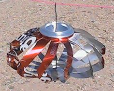 soda can wind spinner