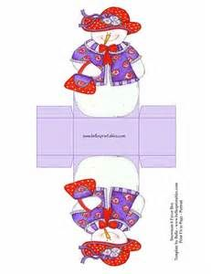 red hatter christmas box templates - Bing images