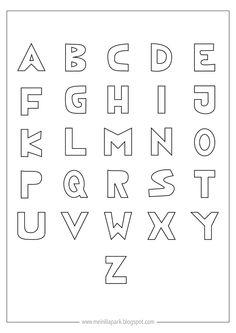 free printable alphabet letter template coloringalphabet