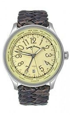 30e6ee2f640 Relógio Tommy Bahama Men s TB1076 Woven Strap Watch  Relógio  Tommy Bahama