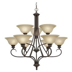 Found it at Wayfair - Alberta 9 Light Chandelier