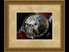 A. Lange & Sohne Swiss Luxury Watch Framed Print and Photo in Canvas, Beautiful and Unique Picture