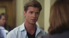 Chapter Three: The look Riley made when Ana told Kate they needed to leave. Ana didn't see it. (Pictured: Drew Van Acker)