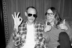 Me as Jared… Jared as Me.- Photo by Terry Richardson. (Via http://terrysdiary.com/post/59686504775/me-as-jared-jared-as-me