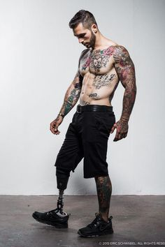 Yes, I pinned this because of his tattoos ;) ...Alex Minsky