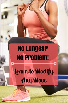 Try these 8 modifications for common body weight exercises when you feel like you can't do the exercise as is prescribed. It's a great workout--do what you can!