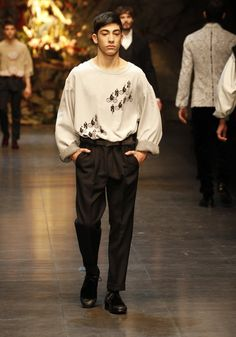 Photo by D Official #menswear fall winter 2014 #dolcegabbana