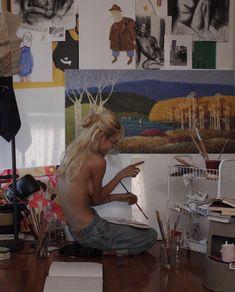 Arte Lowbrow, Artist Aesthetic, Frank Ocean, Art Hoe, Teenage Dream, Photo Dump, Dream Life, Aesthetic Pictures, Daydream