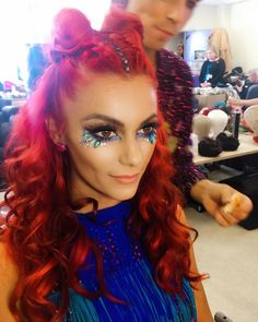 Dianne Buswell - Loved my hair and make up from Saturdays show or should I say festival 🤟 thanks again to my wonderful team hair by makeup by 💄💋👄 Festival Hair, Festival Looks, Strictly Come Dancing, My Hair, Halloween Face Makeup, Make Up, My Love, Celebrities, Hair Styles