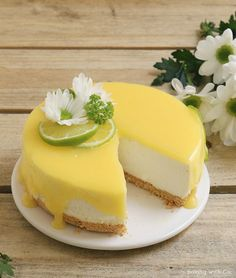 lime or lemon cheesecake without oven Lemon Desserts, Delicious Desserts, Cheese And Cracker Platter, Baking Recipes, Dessert Recipes, Cake Dip, Cheese Sauce For Pasta, Lime Cheesecake, Summer Cakes