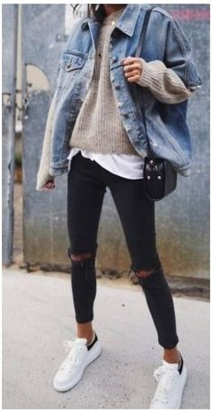 Winter Outfits 2019, Winter Outfits Women, Casual Winter Outfits, Winter Fashion Outfits, Look Fashion, Trendy Outfits, Fall Outfits, Casual Fall, Fashion 2020