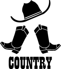 country music clipart free logo type illustration of the title rh pinterest com country music star clipart country western music clipart