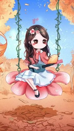 รูปภาพ autumn, fashionable, and illustration Anime Chibi, Kawaii Anime, Kawaii Chibi, Cute Chibi, Cute Cartoon Girl, Cute Love Cartoons, Cute Girl Wallpaper, Kawaii Wallpaper, Cute Girl Drawing