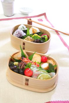 Traditional Japanese Bento in Odate-Magewappa Wooden Lunchbox|まげわっぱ弁当