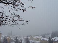 Petřín v lednu 2015, Praha