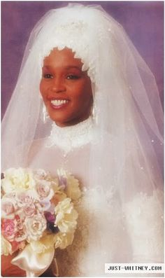 Recording artist and actress Whitney Houston was married to singer Bobby Brown 1992-2006.  They had one daughter.  Whitney passed away in 2012.