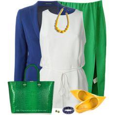Green, Blue & Yellow