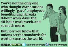 Unions matter.