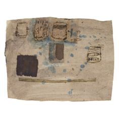 Hannelore Baron (1926-1987), Untitled, 1987. Paper, cloth and ink. 22.2cm H x 28.6cm W.