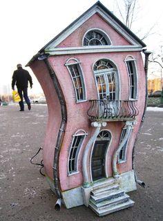 I'd love this inside my house. A home in a home.    via http://www.etsy.com/shop/EkaKaramelka