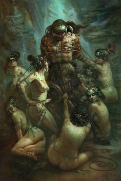 #myfantasyart Conan the Conquered by artist Patrick J. Jones