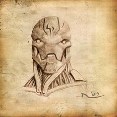 Standard Warforged by MisterAozame on deviantART