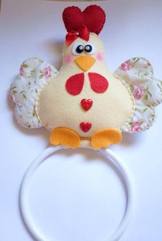 . Cute Crafts, Fall Crafts, Diy And Crafts, Christmas Crafts, Diy Disney Ears, Disney Diy, Chicken Pattern, Chicken Crafts, Chickens And Roosters