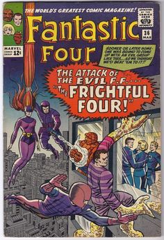 Fantastic Four #36 Marvel Comics