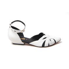 Sapato em couro branco - Louloux