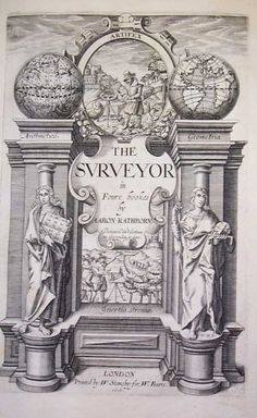 THE SURVEYOR by Aaron Rathborne - 1616 - Land Surveyors United