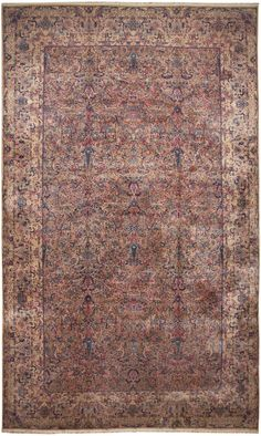 Antique Persian Kerman Rug 46399 http://nazmiyalantiquerugs.com/antique-rugs/antique-product-type/antique-persian-kerman-rug-46399/