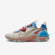 React Vision 'Desert Oasis' Release Date Hot Shoes, Men's Shoes, Frugal Male Fashion, Transparent Heels, Cream Shoes, Photo Blue, Air Max 270, Layered Look, Nike Tennis