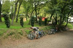 The Camel Trail Tea Garden - http://bikesmart.eu