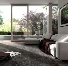 Award Winning Interior Designers Church Street Brighton.  Love the floor to ceiling glass sliders!