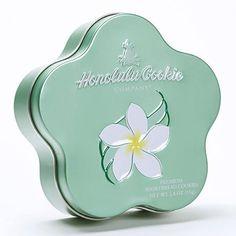 (ハワイ土産)ホノルルクッキーカンパニー フラワーコレクション 可愛い缶入り  FLOWER TIN FRUIT & CHIP COLLECTION 6缶セット [並行輸入品]