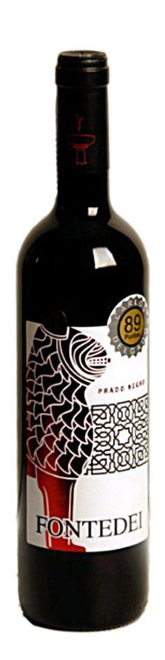 Prado Negro, red wine Fontedei winery. DO Granada