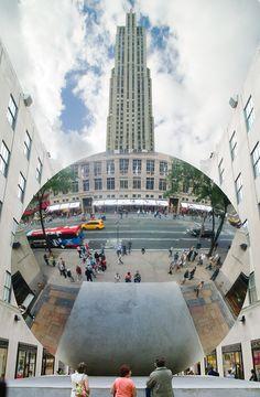 Public Art Fund : Sky Mirror 2006