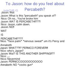 Annabeth. XD I shouldn't be laughing this hard!!!