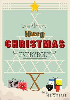 Merry Christmas | NeXtime wishes everybody a merry christmas! | By: Renske Vera Zwaan