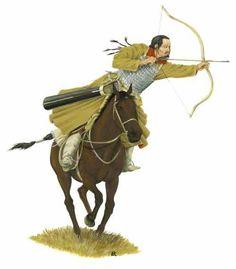 Kök Türk (Tujue) Horse Archer - Ashina Clan - Gökturks