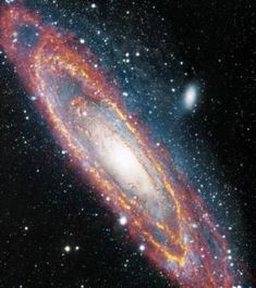 "Hubble Space Telescope ""Why the Cosmos, Why the Quantum, Why Existence"" Andromeda Galaxy in visible and infrared light Cosmos, Hubble Space Telescope, Space And Astronomy, Infrared Telescope, Hubble Images, Hubble Pictures, Galaxy Images, Galaxy Pictures, Andromeda Galaxy"