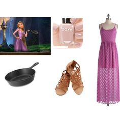Disney Princess Inspired Outfits by krisruthie on Polyvore featuring Mode, Lodge and Zoya
