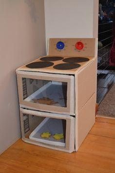 Cardboard Oven