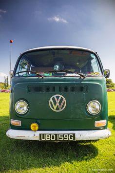 The Chiltern Hills Rally 2014 VW Bay window Camper